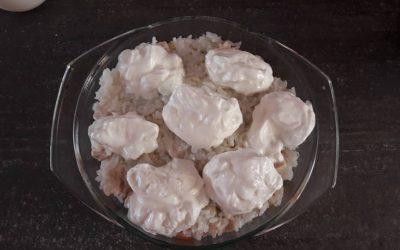 Zöldséggel rakott rizses csirke