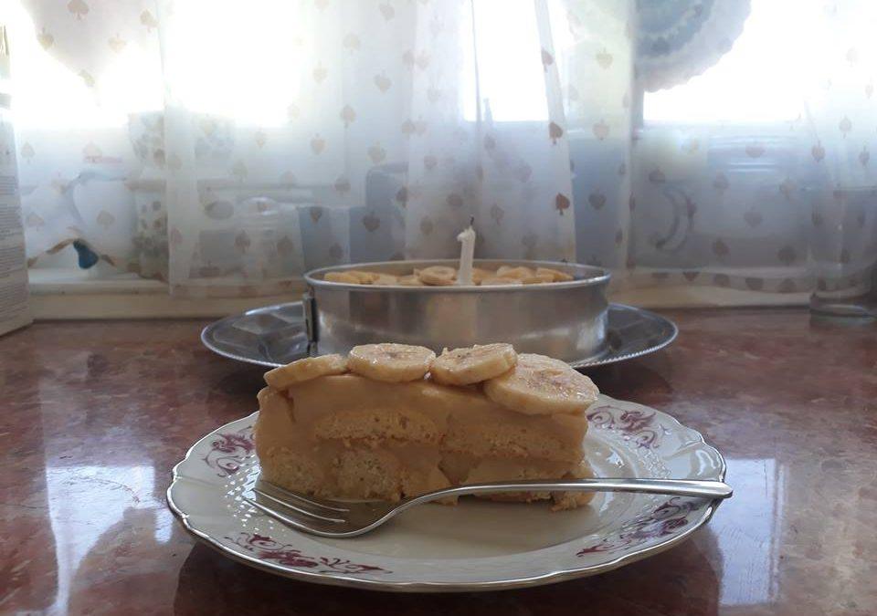 PUDINGOS PISKÓTA TORTA