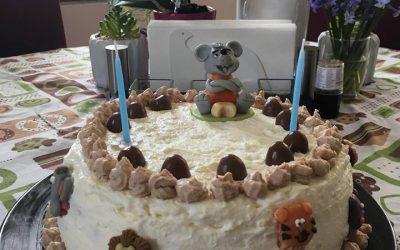 Tejszelet torta