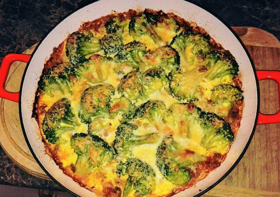 Rakott brokkoli