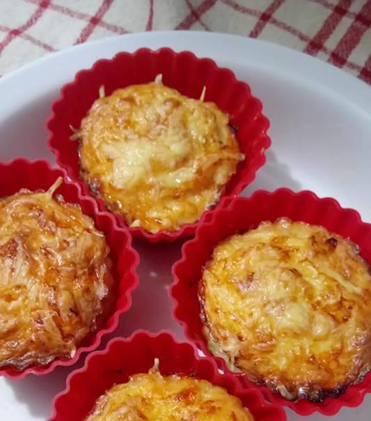 Csirkemelles muffin