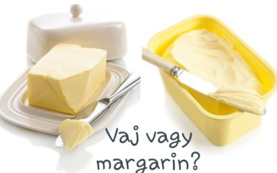 Vaj vagy margarin?