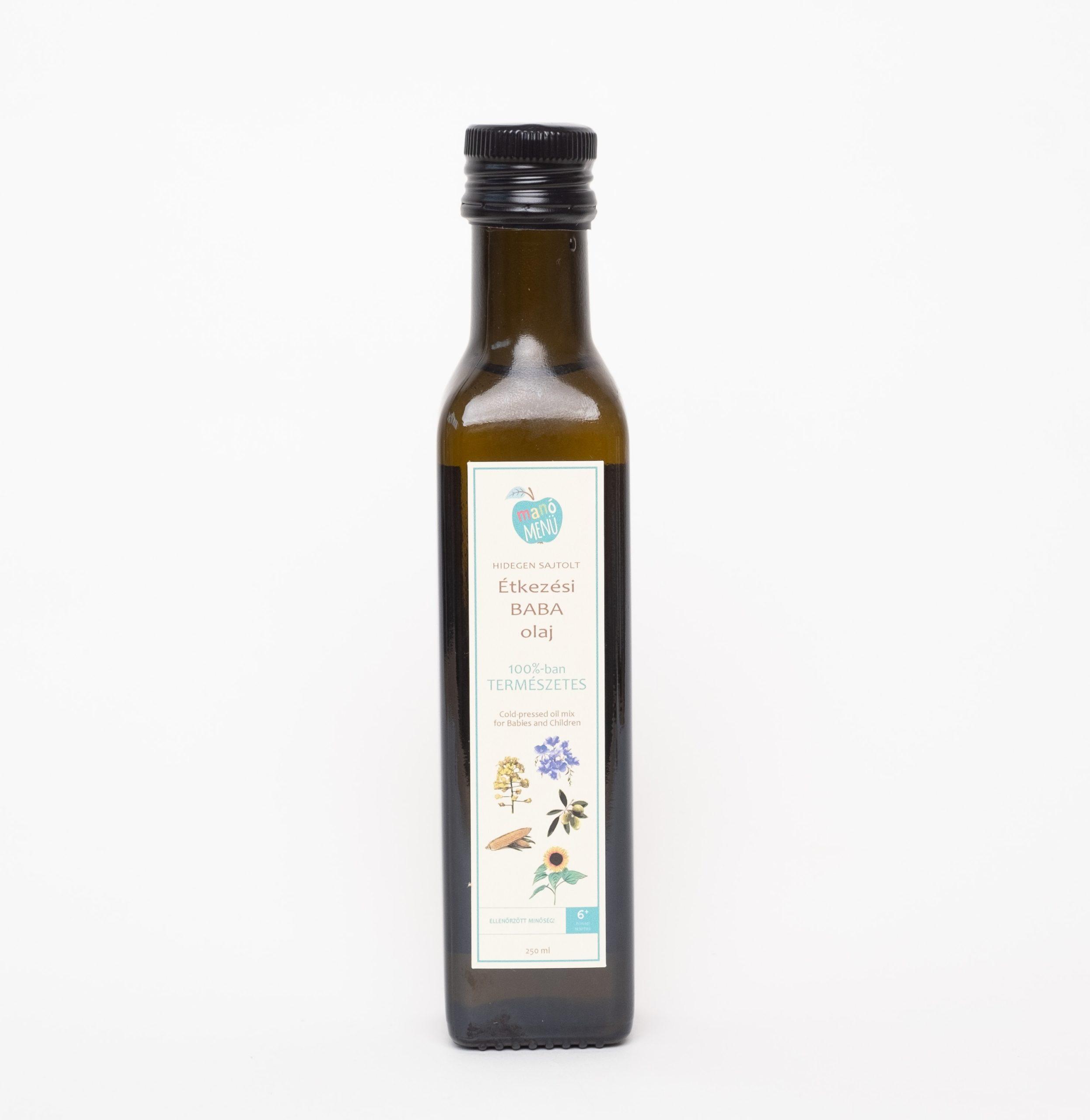 ManóMenü® Étkezési Babaolaj 250ml - Manó Menü